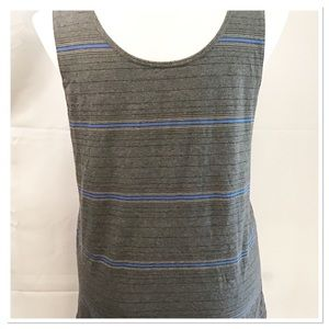 Mossimo Supply Co Large Striped Mens Tank Top
